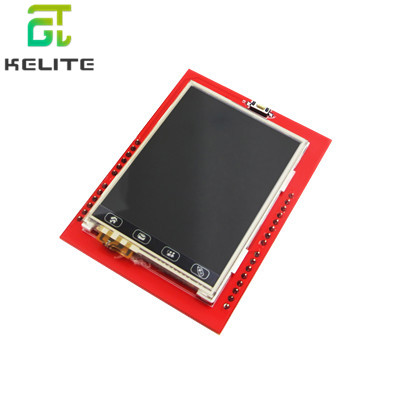 10pcs/lot 2.4 Inch TFT Touch LCD Module LCD Screen Module  UNO R3