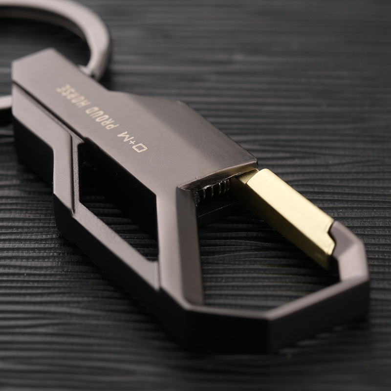 2019 Stainless Steel Volvo Key Rings With Emblem Logo High: 2019 High Quality Brand Design Cool Stainless Steel Luxury