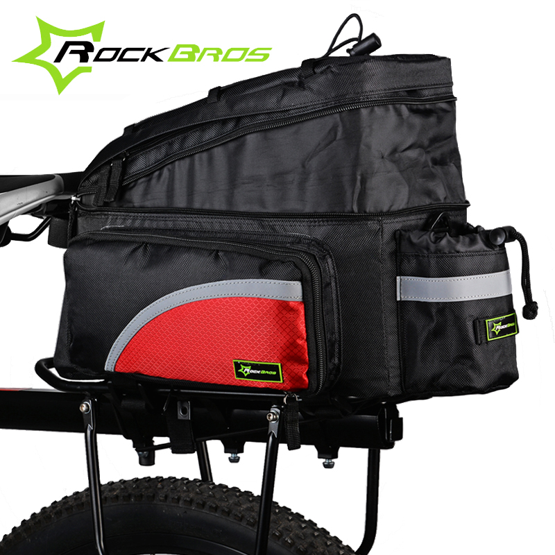 acacia multifunction nylon bike seat bag bicycle pannier with waterproof cover long distance. Black Bedroom Furniture Sets. Home Design Ideas
