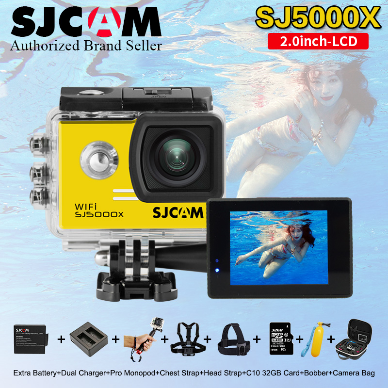 2.0 4K 24fps Original SJCAM Sj5000 Series SJ5000X Elite WiFi NTK96660 Gyro Sports Action Camera Sj 5000X Cam DVR for outdoor круг алмазный по керамике 1a1r ceramics elite 200x1 6x7 0x25 4 diam 000547