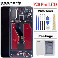 TFT LCD do Huawei P20 Pro ekran LCD ekran dotykowy Digitizer P20 Pro CLT AL01 Lcd z ekranem dotykowym P20 Plus wyświetlacz