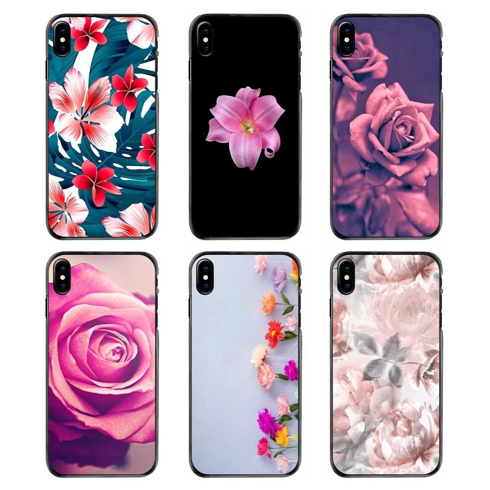 Translucent Flower Wallpaper Accessories Phone Shell Case For Samsung Galaxy Note 2 3 4 5 S2 S3 S4 S5 Mini S6 S7 Edge S9 S8 Plus Fitted Cases Aliexpress