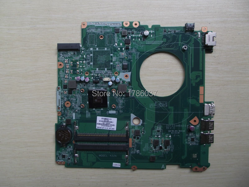 ФОТО Free Shipping 763420-501 DAY22AMB6E0 Y22A for HP PAVILION 17-F 17Z-F motherboard A6-6310 CPU.All functions 100% fully Tested !