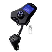 New Bluetooth Car Kit MP3 Player Hands Free Wireless FM Transmitter Radio Adapter USB Car Charger