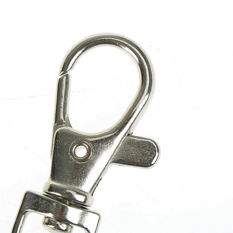 6PCS מיני Rotatable אבזם וו DIY תיק אביזרי לובסטר מפתח שרשרת מתכת גבוהה באיכות Carabiner עבור תיק חלקי & accessorie