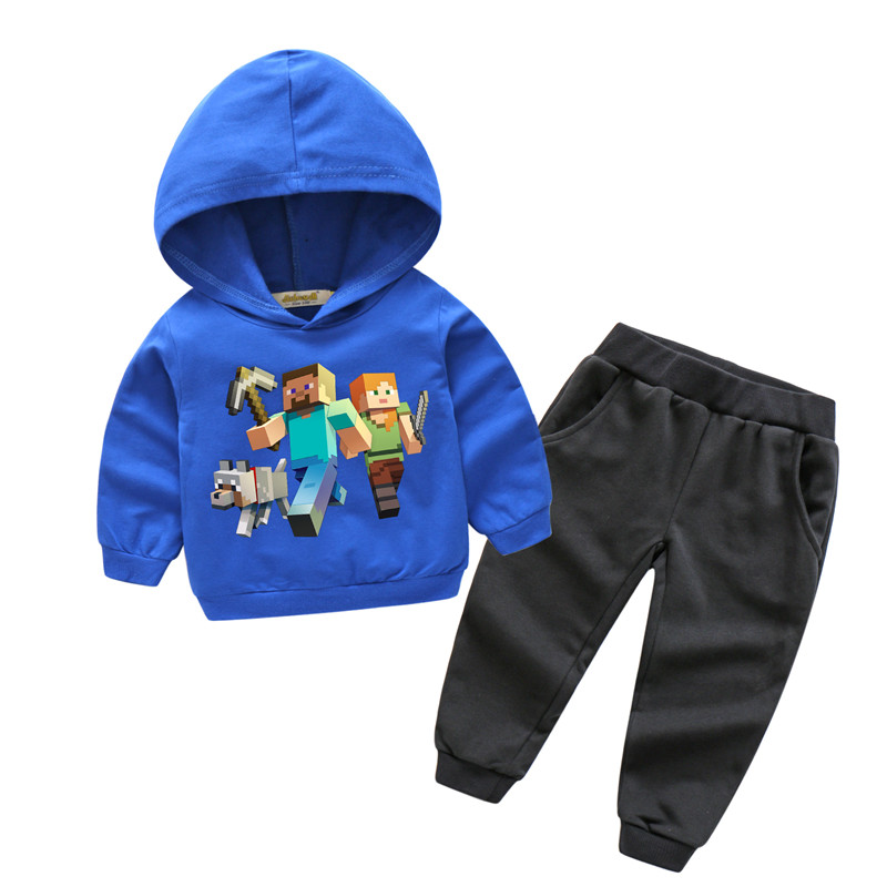 Children New Sport Clothes Sets For Boy Girls Clothing Suits Kids Spring Outdoor 3D Printing Hoodies Suit Baby Tracksuits TZ023 spiderman suit children boys clothing set baby boy spider man sports suits kids clothing 2pcs sets spring autumn tracksuits