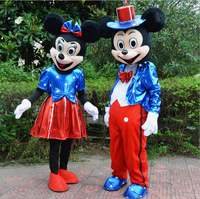 New Minnie Mickey Mascot Costume mascot cartoon character costume Fancy party Dress Cosplay Outfits Adult Christmas Party Suit