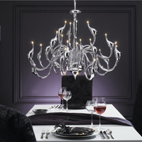 Free Shipping Led Chandelier 24 Lights G4 Led Bulb Included Metal Painting Or Plating Led Chandelier