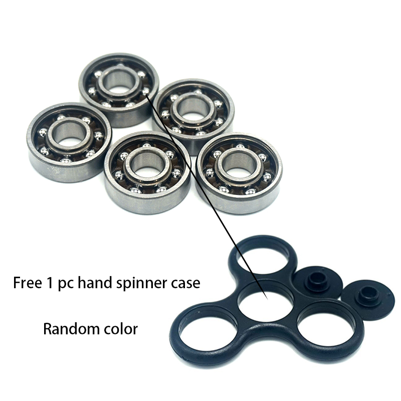 10PCS/LOT 608 Steel Ball Bearing For Tri-Spinner Fidget Toy Hand Spinner In Stock 22MM*7MM qmn women brushed leather platform brogue shoes women round toe lace up oxfords flat casual shoes woman genuine leather flats