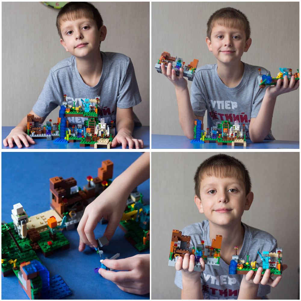 Blocos minecrafted Usage : Enlighten Bricks For Kids