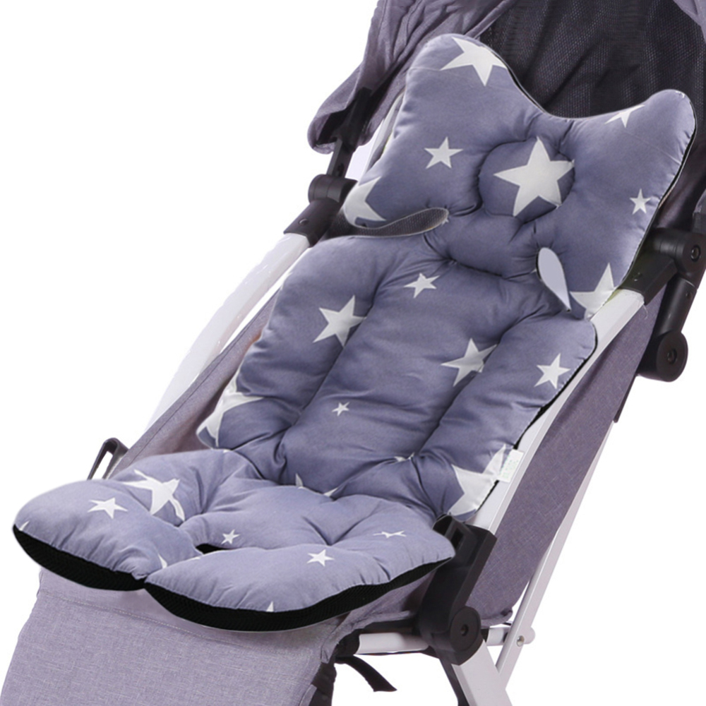 Breathable Soft Car Pad Baby Stroller Cushion Seat Mat Pushchair Car Pad Pushchair Urine Pad Liner Cartoon Mattress Baby Cart