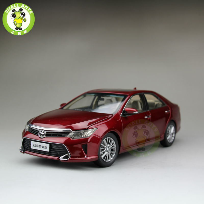 1:18 Toyota New Camry 2015 Diecast Car Model Red масштаб 1 18 toyota crown 2015 diecast модель автомобиля черный