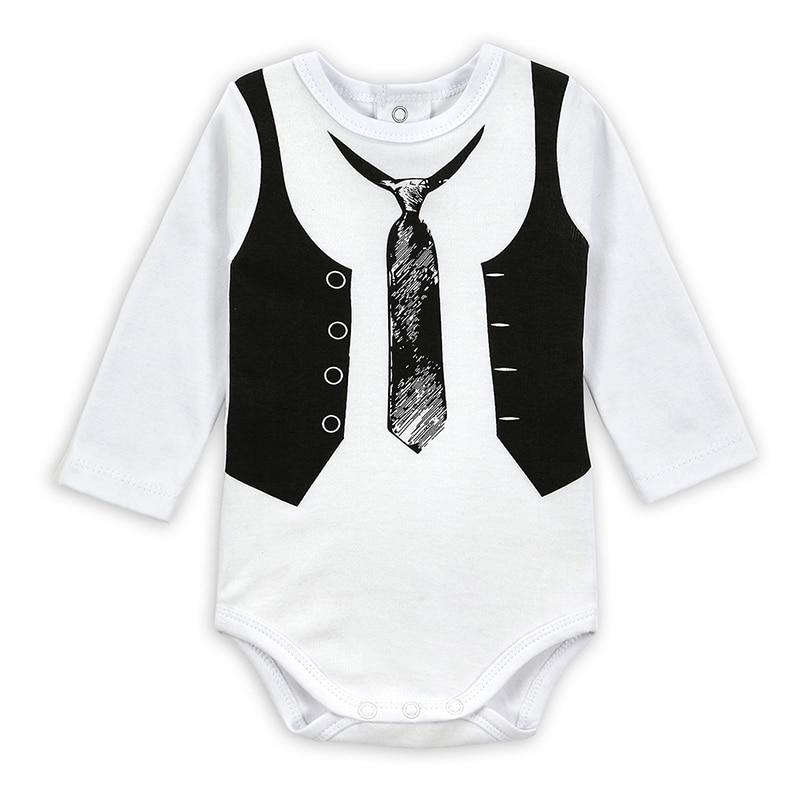 Baby Rompers 0-12Months Kūdikių kūdikių kūdikių kūdikių - Kūdikių drabužiai - Nuotrauka 1
