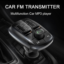 купить Car MP3 player FM transmitter Bluetooth car kit U disk / TF card lossless music cigarette lighter USB car charger по цене 754.87 рублей