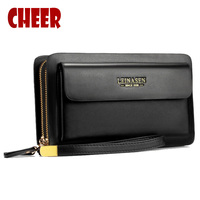 Mens Wallet Money Clip Phone Admission Package High Capacity Multi Bit Casual Clutch Clutch Men Purse