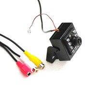 Mini cover HD 1000TVL CMOS security tiny FPV CCTV Audio camera IR Night Vision