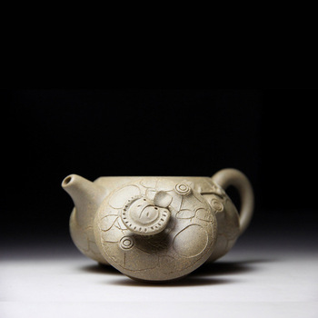 Famous for the spring pot of yixing are recommended by the manual teapot undressed ore mud travel tea set business gifts