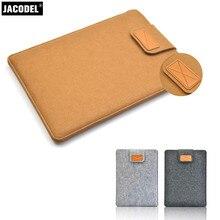 Jacodel Woolfelt Laptop Sleeve Bag 13 14 15 16 17 Laptop Case for Xiaomi Macbook Air Pro 15 Asus Lenevo Laptop Accessories Bags