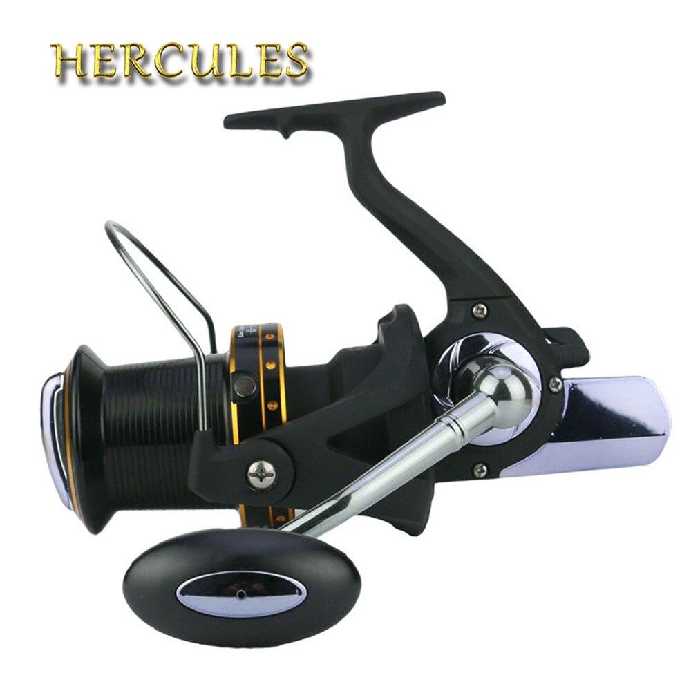 Hercules moulinet de pêche filature 13 + 1 BB roulements à billes carpe bobines arbre à vis sans fin roue distante carpe bobine de pêche 6000-10000