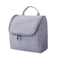 New Arrival Waterproof Oxford Fabric Makeup Bag Large Capacity Womens Flip Zipper Cosmetic Hanging Travel Toiletry