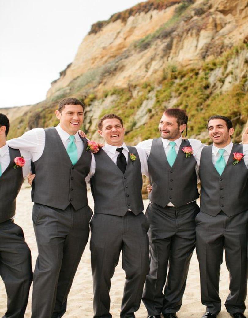 Charcoal Grey Suit Wedding | My Dress Tip