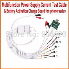 Многофункциональный профессиональный источник питания Тестовый Кабель+ Батарея активация плата заряда для iPhone 6/Plus 5S 5 4S 4