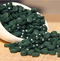 Nutritional supplements spirulina tablet