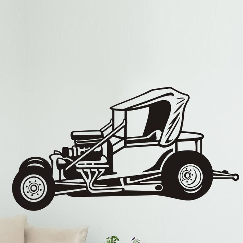 Popular Race Car Wall Decal Buy Cheap Race Car Wall Decal Lots