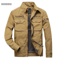 High Quality Men S Jacket Male Overcoat Casual Solid Jacket Men S Jacket Cotton Plus Size