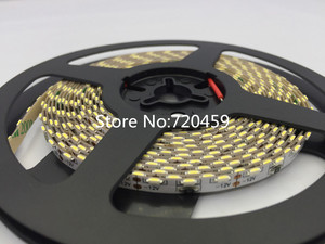 Image 4 - LED 335 Strip light LED high light SMD335 strip light 5MM PCB board 60led/m warm white Side Emitting LED Strip Light 120led/m