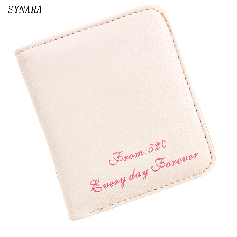 2016 New Vintage Lady Women Purse short Wallet Card Holder Bags Gift Matte Leather Women Wallets Dollar Price Carteira Feminina 2016 new arrive pvc and pu leather purse american marvel comic deadpool wallet with card holder dollar price free shipping