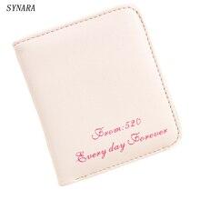 Preferential Women Purse short Wallet Card Holder Bags Gift Matte Leather Women Wallets Dollar Price Carteira