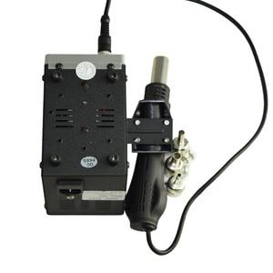 Image 3 - Lead free SMD Soldering Station LED Digital Solder Iron Hot Air GUN Blowser Eruntop 858D 858d+
