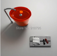Free Shipping Advanced Resin Vessel Sinks Wash Basin Bathroom Pedestal Sink RS38281 2
