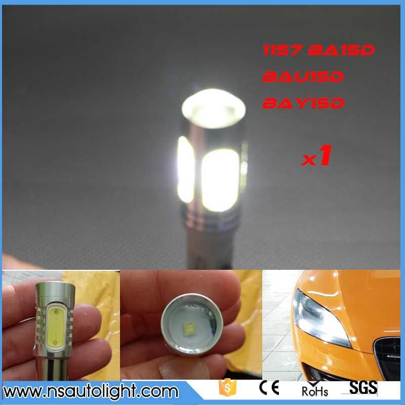11w 1157 BAY15D BA15D BAZ15D P21/5W COB Car LED Brake Tail Stop Light Lamp  12V Auto LED Bulb Brake Tail Light 1pc