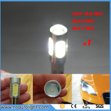 11w 1157 BAY15D BA15D BAZ15D P21/5W COB Car LED Brake Tail Stop Light Lamp 12V Auto LED Bulb Brake Tail Light 1pc
