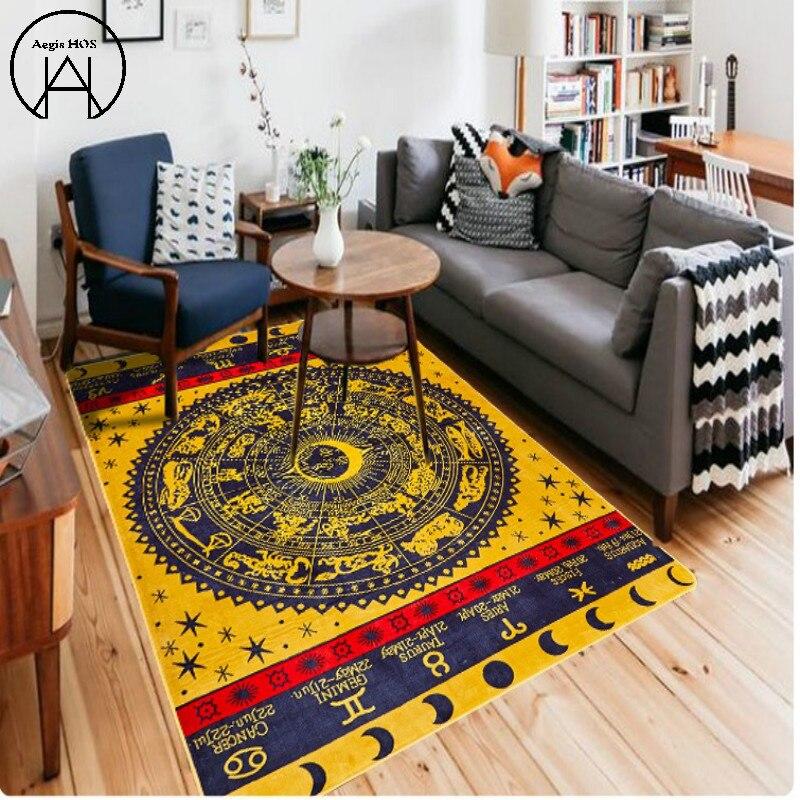 Nordique salon tapis anti-dérapant chambre tapis grands tapis tapis tapis tapis enfants chambre tapis décoration de la maison vacances décoration