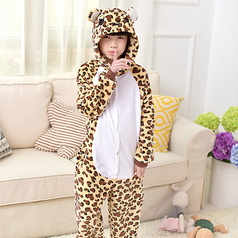 Popular Leopard Flannel Pajamas-Buy Cheap Leopard Flannel Pajamas ...