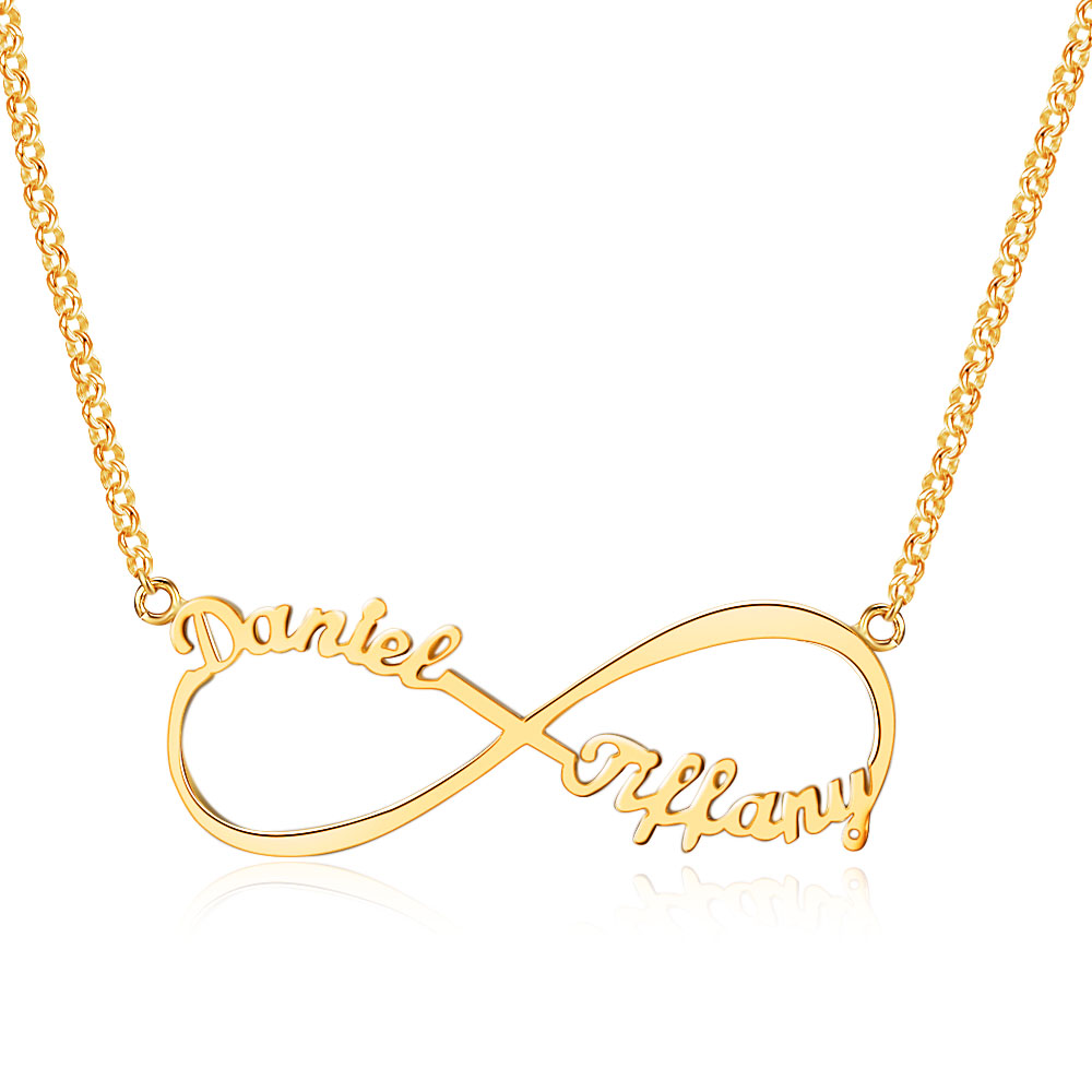 Customize name necklace infinity endless love 925 sterling silver customize name necklace infinity endless love 925 sterling silver necklaces pendants birthday gifts for herjewelora ne101367 in pendants from jewelry aloadofball