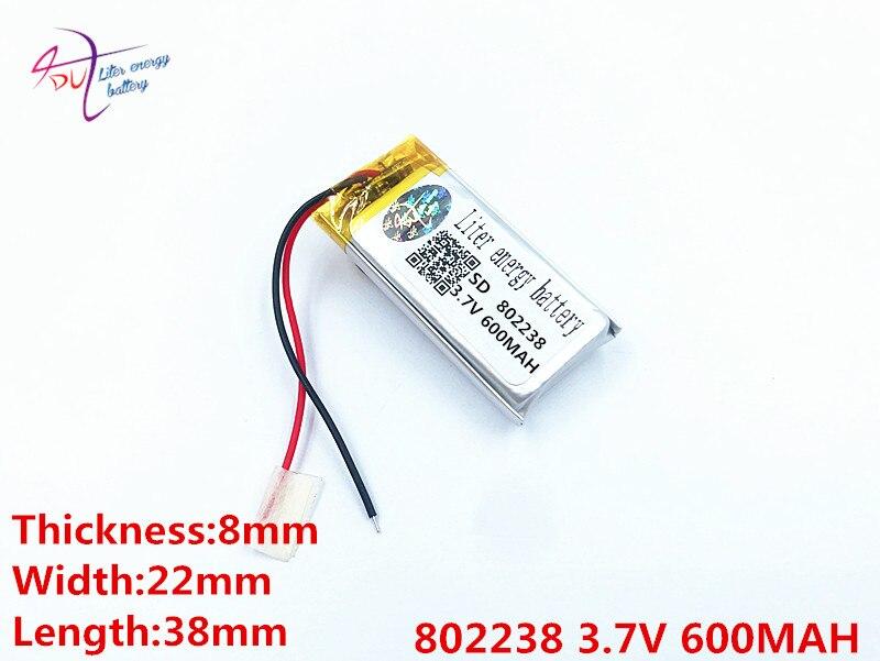 Batterien Stromquelle Beste Batterie Marke 3,7 V Lithium-polymer-batterie 802327 300 Mah Bluetooth Modul Mit Bord Strom Rechner Schmerzen Haben