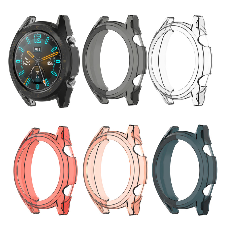 Watch Elegant Protective-Case Transparent for Huawei GT 42/46mm-Version Dedicated