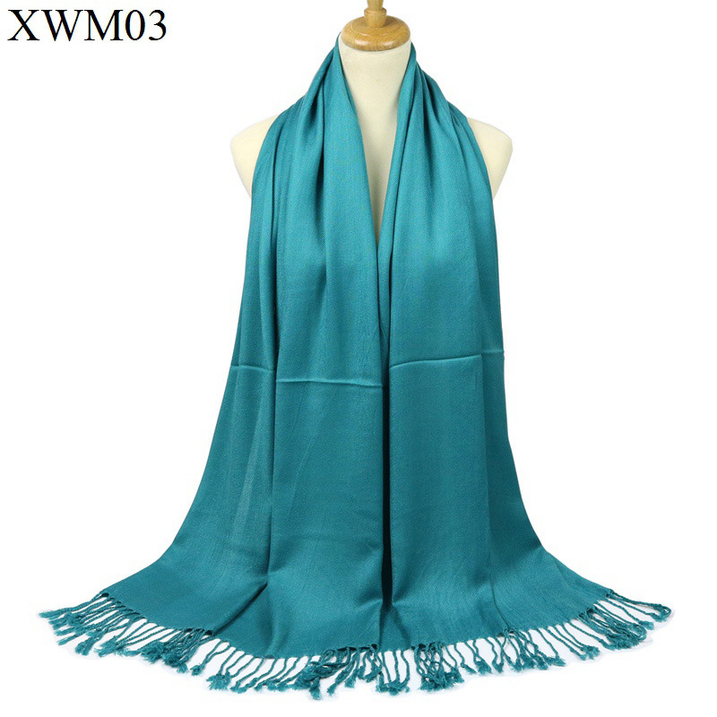 Free Shipping Light Blue Chinese Women's Silk Pashmina Shawl   Scarf     Wrap     Scarves   WS008-E