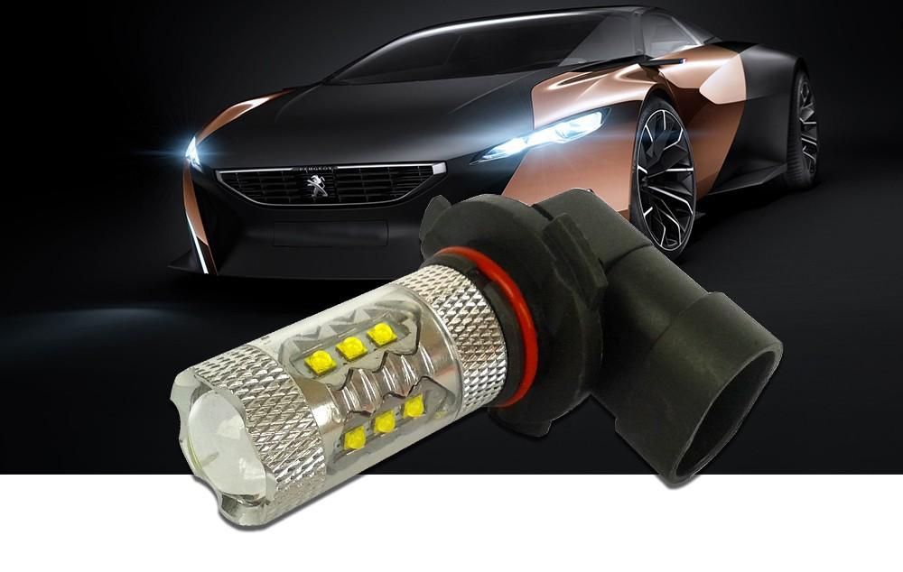 HB3 9005 80W LED Bulbs for Cars High Power Cree XB-D Ultra Bright 6000K Xenon White Automobiles Head DRL Fog Lights Source (12)