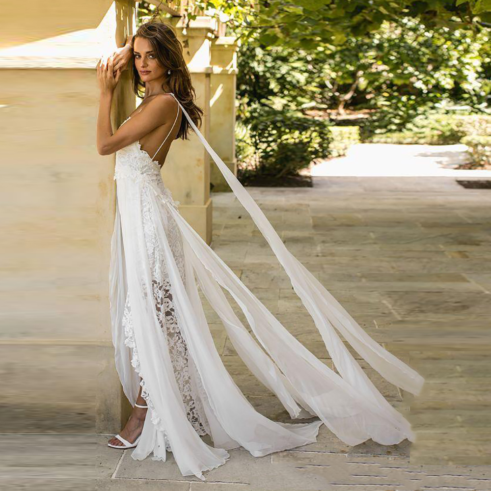 2018-sexy-lace-chiffon-a-line-boho-wedding