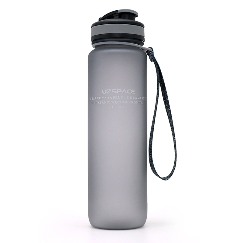 Brand Tritan Water Bottles Scrub Portable <font><b>Cup</b></font> Sports Cycling Camping Travel Drinkware Shaker WIth <font><b>Convenience</b></font> Lip Bottle