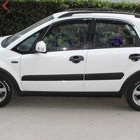 Fit For Suzuki SX4 2007 2008 2009 2010 2011 ABS Plastic Rubber Side Door Body Car
