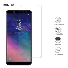 2PCS Tempered Glass For Samsung Galaxy A6 Phone Screen Protector Front Film BSNOVT