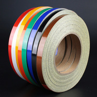 1cm 45m Bright Reflective Tape Sticker Car Styling Auto Vehicle Truck Motorcycle Bicycle Safety Warning Cool