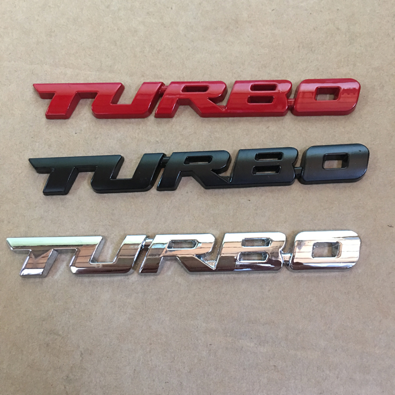 X D Car Emblem Sticker TURBO METAL GRILL Rear Trunk Car Badge For - Audi car emblem