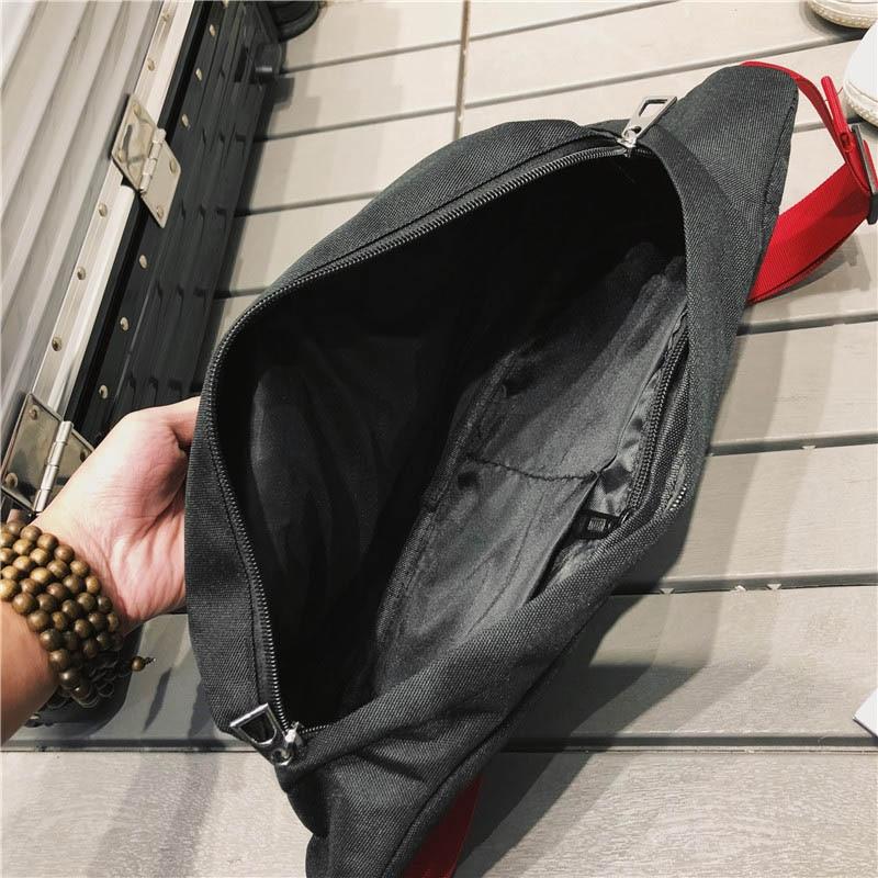 Unisex Boys Girls Oxford Waist Bags Zipper Crossbody Bag Casual Accessories Bags For Women 2018 Sac A Main Ladies Fanny Bag New